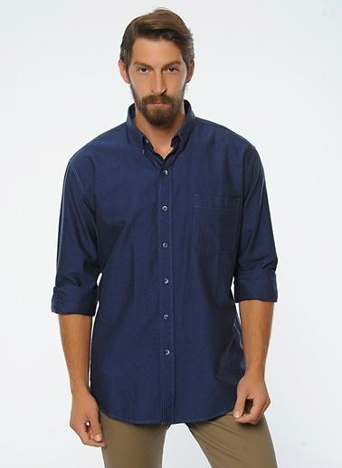Oxford Yaka Uzun Kollu Gömlek-Lee